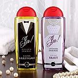 Lustige Apotheke Wellness Set zur Hochzeit zum Schenken mit Duschgel und Badesalz -