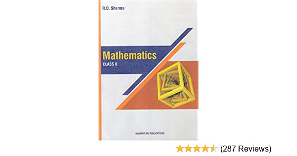 Mathematics for Class 10 by R D Sharma 2018-19 Session: Amazon in