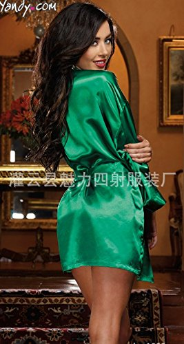 Europäischen sexy Dessous Unterwäsche XL robe vier Set (Knöchel Länge Roben)
