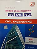 3200 MCQs: Civil Engineering - Practice Book for ESE, GATE & PSUs