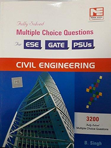 3200 MCQs: Civil Engineering - Practice Book for ESE, GATE & PSUs