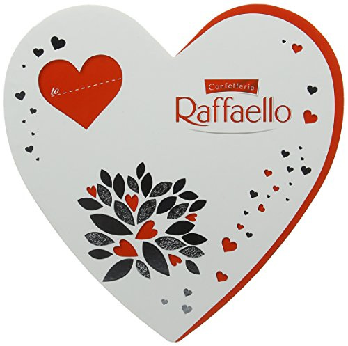 Ferrero Raffaello 14-Piece Heart Box (Pack of 3, Total 42 Pieces)