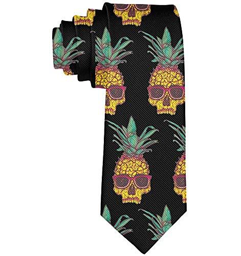 Warm Night Cravatta da uomo Slim Gentlemen Cravatta cravatta classica Cravatta per matrimonio d'affari