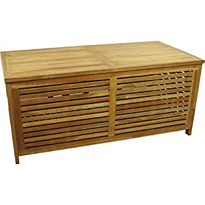 gartenbox teak gartentruhe auflagenbox kiste. Black Bedroom Furniture Sets. Home Design Ideas
