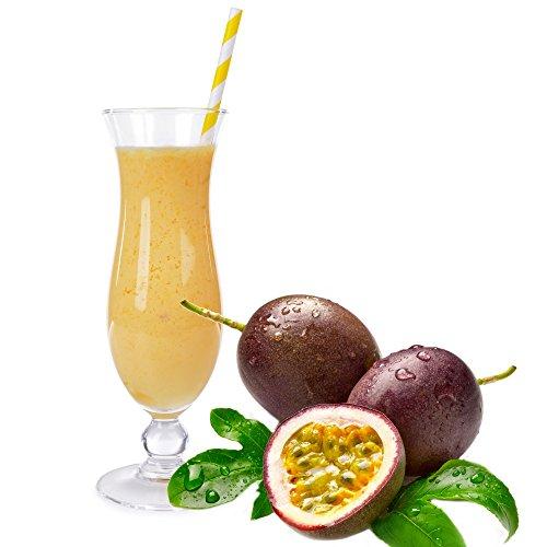 Maracuja Geschmack Blsu Proteinpulver Vegan mit 90% reinem Protein Eiweiß L-Carnitin angereichert für Proteinshakes Eiweißshakes Aspartamfrei (200g)
