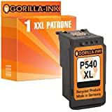 Gorilla-Ink® 1 Patrone XXL remanufactured für Canon PG-540 XL Pixma MG 3255 MG 3550 MG 3650 MG 3650 red MG 3650 white
