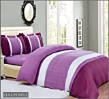 Patchwork Streifen Tagesdecke Bettüberwurf Überwurf für Doppelbett