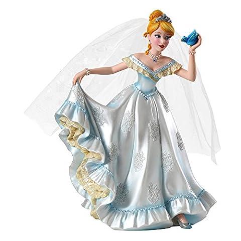 ENESCO Disney - Statue Résine 21cm Princesse Cendrillon / Cinderella Wedding Collection Haute Couture Figurine