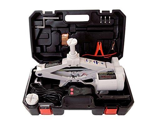 YASI MFG® Cric elettrico 12v 2t con telecomando, senza fili, altezza di...