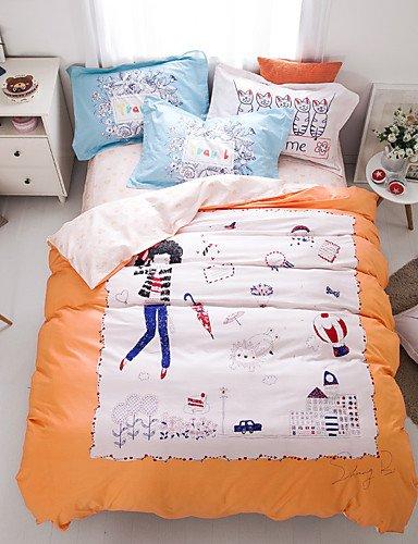 zug,guter Stoff aus 100% Baumwolle Bettwäsche-Set Druckbettbezug setzt Königin / Doppel / in voller Größe , queen ()