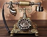 Erstklassige Altmodische Telefon,Zwei Arten Klingeltöne Auswahl,One-Key-Wahlwiederholung