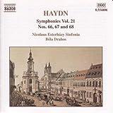 Haydn: Symphonies vol.21 Nos 66, 67, 68