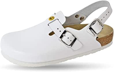 Weeger -ESD Antistatic Clog with Heel Strap