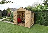 Apex Gartenhaus Druck behandelt 7x 5-tür Holz Schuppen