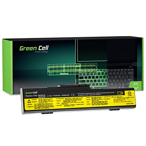Green Cell® Standard Serie 92P1097 Laptop Akku für Lenovo IBM ThinkPad X30 X31 X32 (6 Zellen 4400mAh 10.8V Schwarz) - Thinkpad 6 Cell