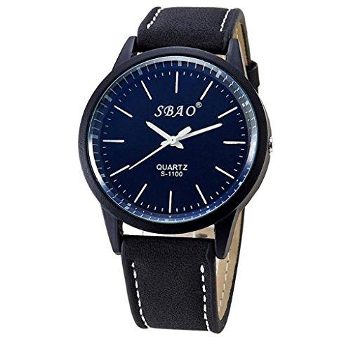 Jamicy® Mode Persönlichkeit Trends Symphonie Spiegel hochwertiger Business Gürtel Watch Uhr Schwarz Roten Gürtel Schwarzes Zifferblatt, Damen-uhr