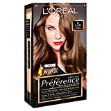 3 x L'Oreal Paris Recital Preference Permanent Colour 6 Capri Natural Light Brown