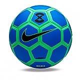 Balón Fútbol Sala Nike Menor X Azul/Verde