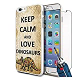 Best GENERIC 4s case - Love Dinosaurs Design Hard Case Cover & Glass Review