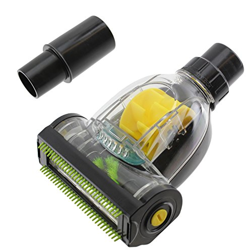 Minicepillo aspirador turbo Spares2go, para eliminación de suciedad y pelo de mascotas, compatible con aspiradoras Russell Hobbs (32 mm / 35 mm)