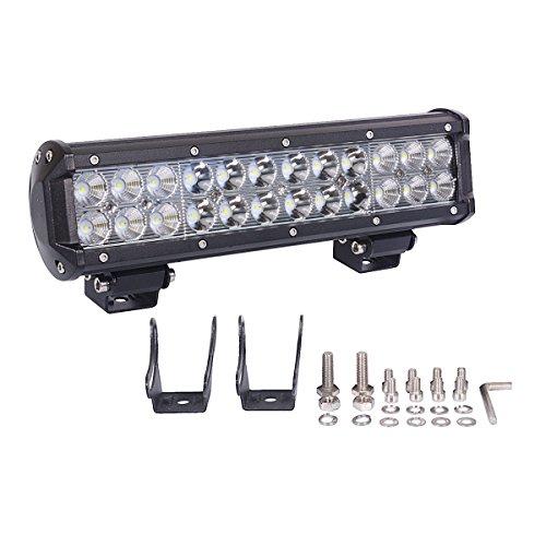 LED Barre,JieHe 72W Phares Longue Portée Led Projecteur pour Led Work Light LED Phare Lampe Pour Chantier Véhicules SUV ATV et Camion Tout-terrain (72W)