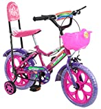 #8: Outdoor Pink 14 Inches Bicycle For Kids 3 to 5 Years
