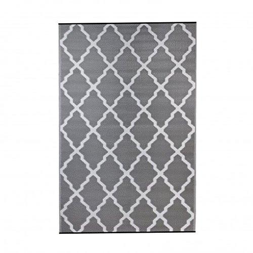 ambientair R150240GRA Outdoor-Teppich, 150 x 240 cm, Grau, Einheitsgröße