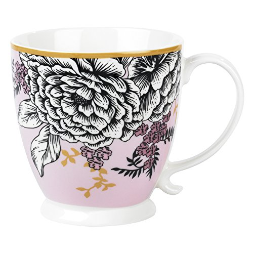 Cambridge Cm05452 Kensington Aspen chiné Mug en Porcelaine, Multicolore