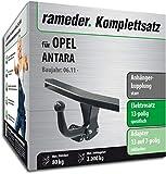 Rameder Komplettsatz, Anhängerkupplung starr + 13pol Elektrik für OPEL Antara (143062-05548-1)