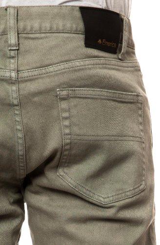 Emerica Herren Jeans Saratoga Denim grey