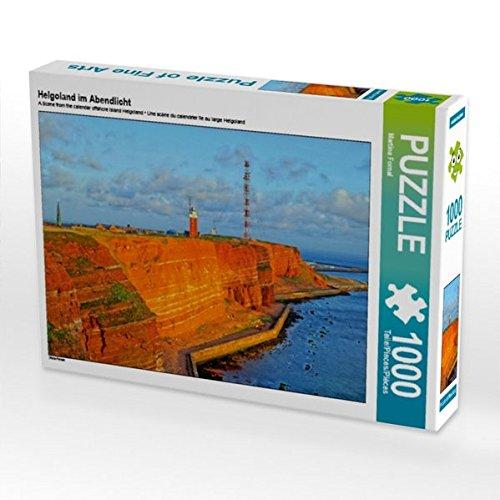 Preisvergleich Produktbild Helgoland im Abendlicht 1000 Teile Puzzle quer