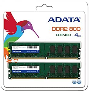 4 GB DDR2-RAM PC800 CL5 A-DATA Value 2x2GB KIT retail