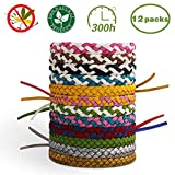 X99 Mosquito Repellent Bracelet,100% Natural Anti Insect Mosquito Killer Last 300 Hours Protection