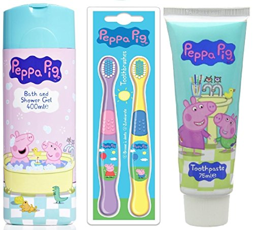 peppa-pig-shower-mouth-care-bath-and-shower-gel-400ml-two-toothbrush-toothpaste-75ml