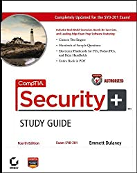 CompTIA Security+Study Guide: Exam SY0-201 by Dulaney, Emmett (2008) Paperback