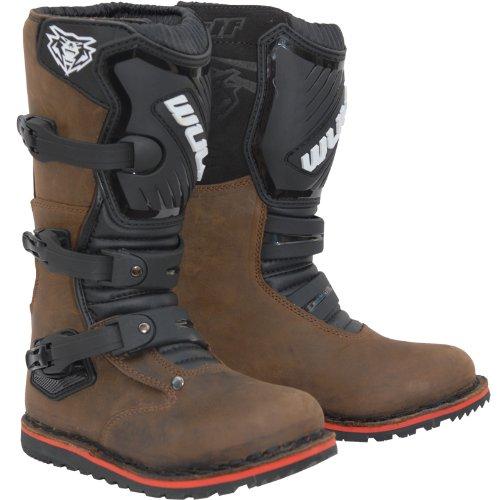 Wulf Trials Cub Boots 36 Brown (UK 2.5)