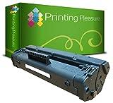 Printing Pleasure C4092A / 92A Premium Toner Schwarz Kompatibel für HP Laserjet 1100, 1100A, 1100A SE, 1100A XI, 1100SE, 1100XI, 3200, 3200M, 3200 SE, 3200 XI