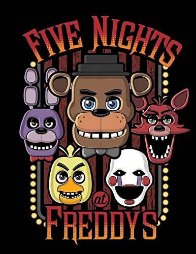 "Five Nights at Freddy's: Sketch Book 8.5"" X 11"", 100 Pages"