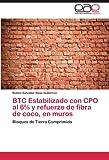 BTC Estabilizado con CPO al 6% y refuerzo de fibra de coco, en muros