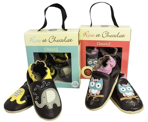 Rose & Chocolat - Rcc  Sweet Tea Navy, Pantofole per bimbi Azul (navy)