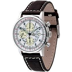 Zeno-Watch Herrenuhr - Telemeter Chrono - Limited Edition - 6069TVD-c2