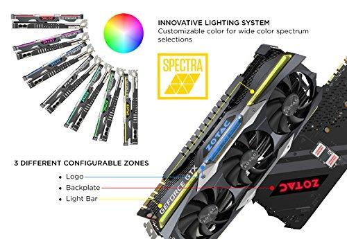 ZOTAC GeForce GTX 1080TI AMP Extreme 11GB GDDR5X 352 bit VRReady - 5