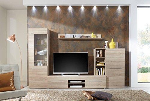 Wohnwand –  Wohnzimmerschrank Schrankwand kaufen  Bild 1*