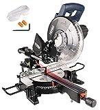 FERM Troncatrice Radiale 1900W - 255 mm - laser - con TCT T60 lama e sacco polvere |...