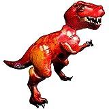 Anagrama 110242-01 - Globo de plástico AirWalker - Descubrir Dinosaurios Tiranosaurio Rex, Aprox. 172 x 154 cm