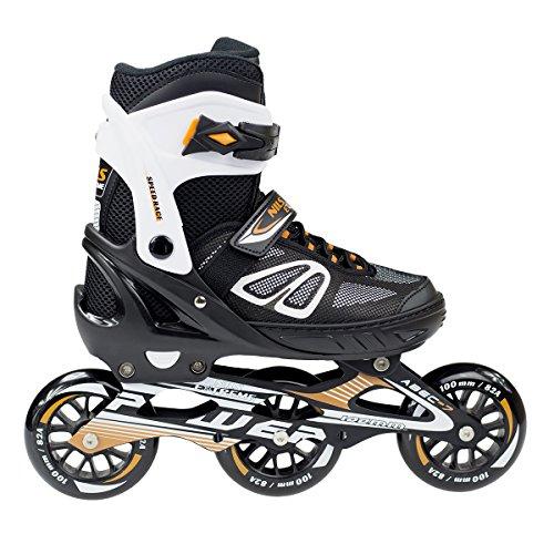 Inlineskates Inliner Skates Rollschuhe Skating verstellbar Herren M L NA2153 (L)