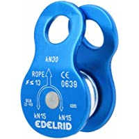 Edelrid Turn - Polea para escalada, color azul