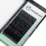 OMBERLAN wimpernverlängerung set D Curl 0,20mm 8-15mm mix länge wimpernextension-lash extension