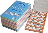 Rainbow Bingo Karten, 6000 Tickets, für 1-90 Bingo Spiel