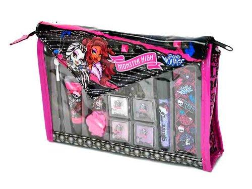 Monster High – Pequeño neceser repleto de productos de maquillaje (Markwins 9433210)